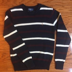 Boys size M 10/12 Ralph Lauren polo sweater